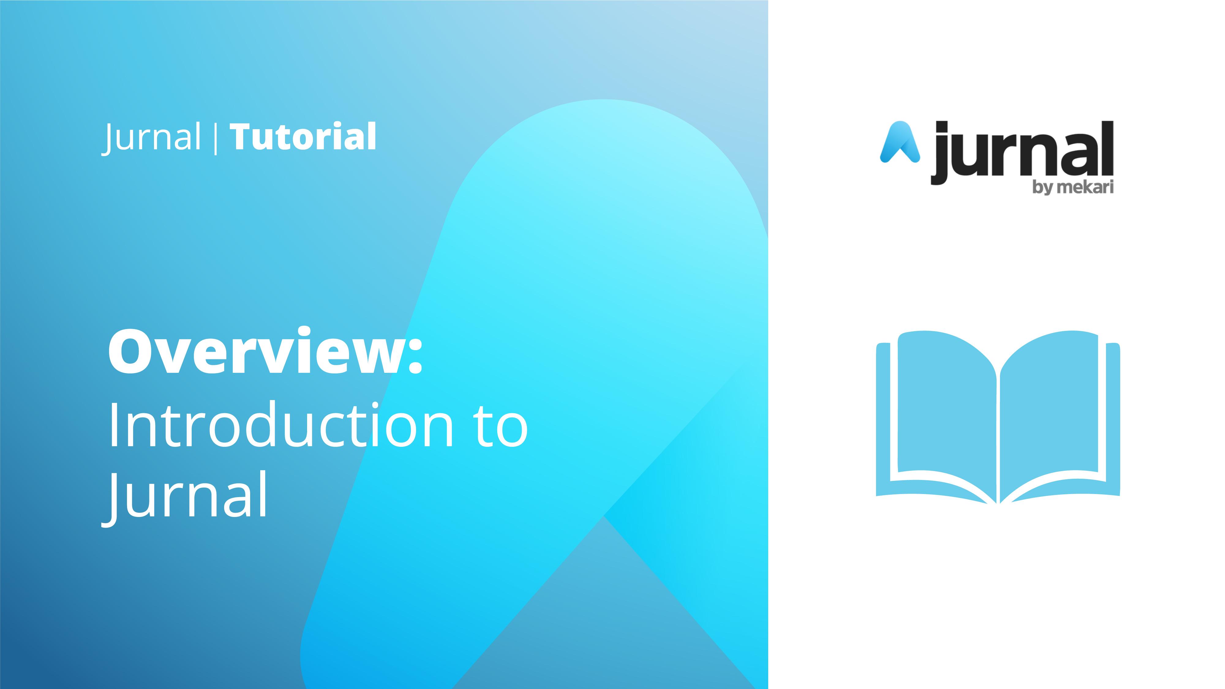 Tutorial - Jurnal Overview