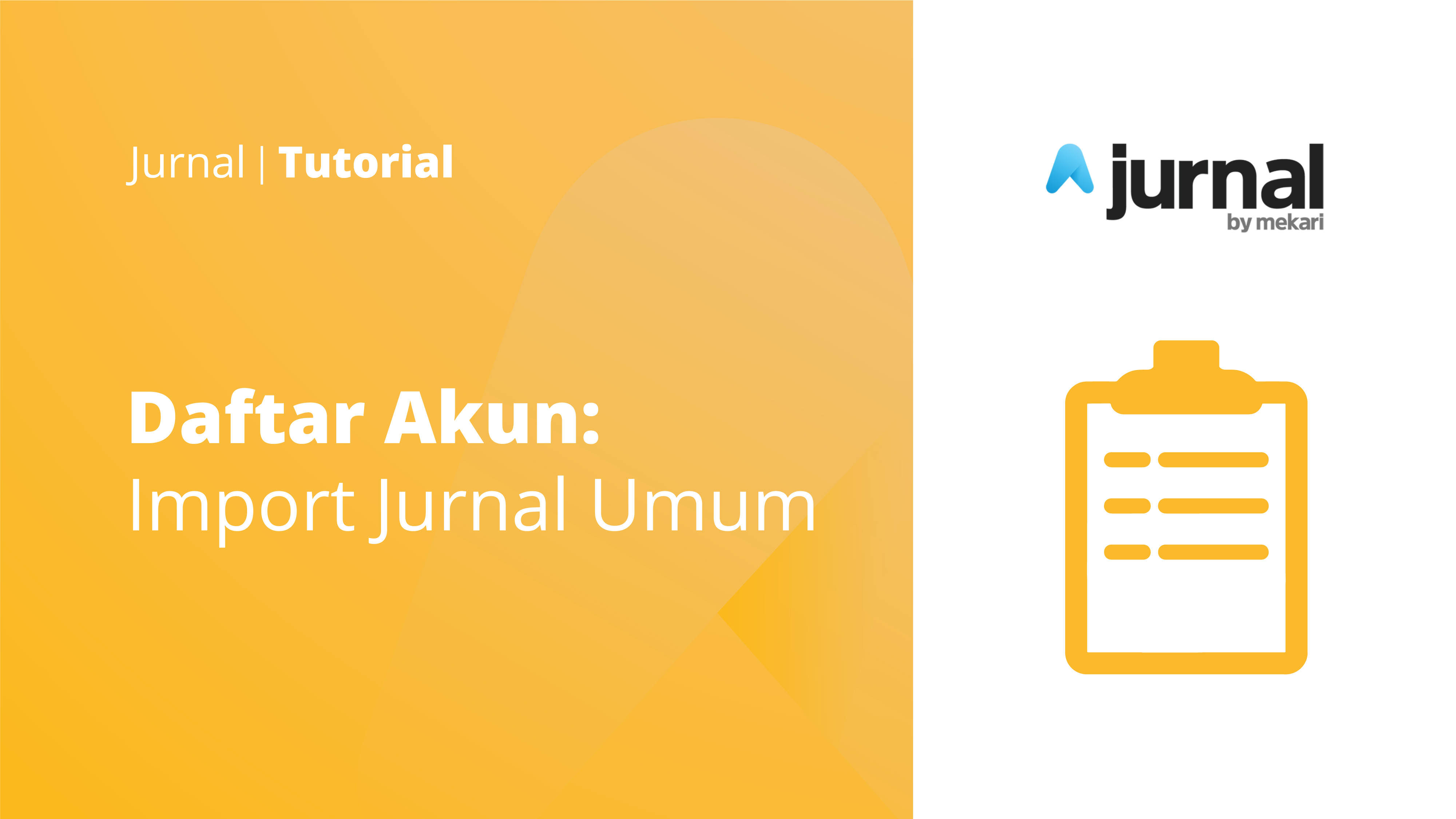 Import General Journal